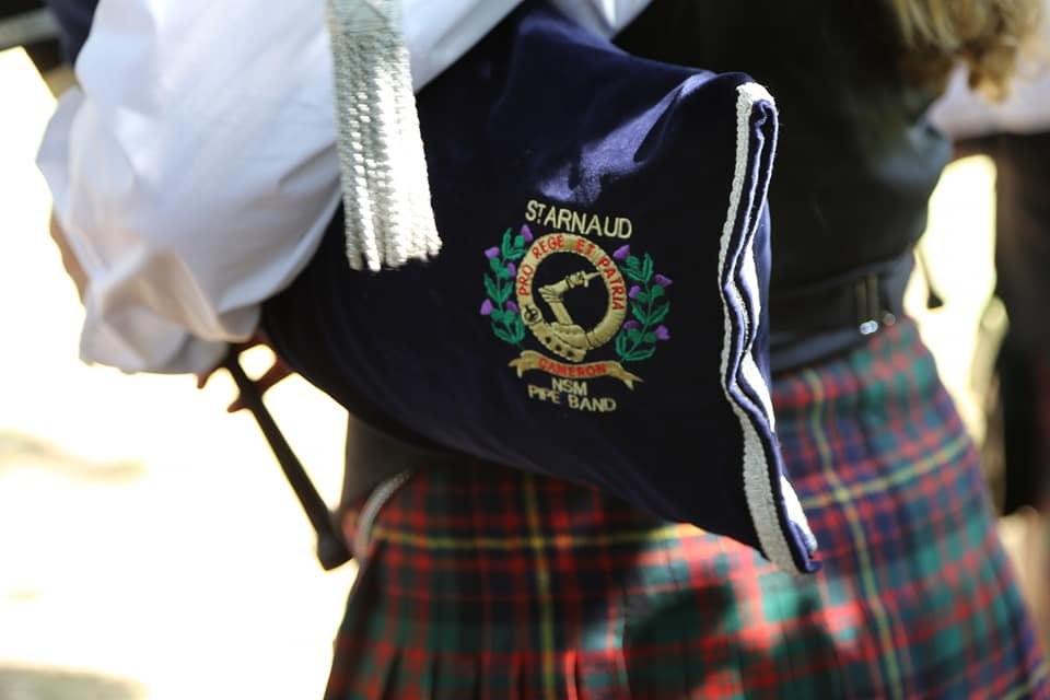 2019 Victorian Mini Pipe Band Championships | St Arnaud @ Queen Mary Gardens